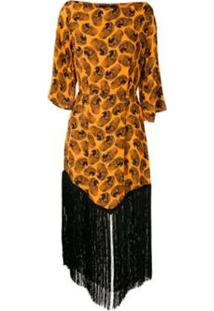 Vestido Franjas Arara Eva - Feminino
