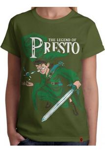 Camiseta The Legend Of Presto