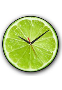 Relógio De Parede Colours Creative Photo Decor Decorativo, Criativo E Diferente - Limão