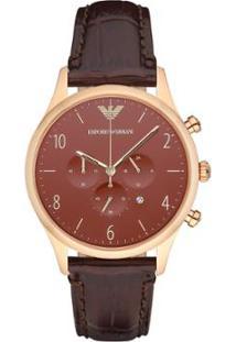 0f409a553b9 ... Relógio Emporio Armani Masculino - Ar1890 0Mn Ar1890 0Mn - Masculino- Rose Gold