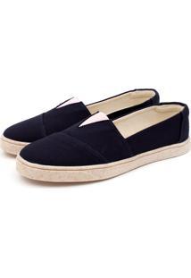 Sapatilha Casual Forrada Jl Shoes Azul