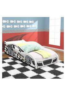 Cama Inf Carro Speedy C/ Col Bco/Bco Rpm