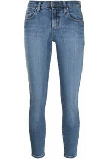 Nobody Denim Calça Jeans Skinny Geo - Azul