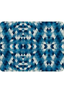 Tapete Love Decor Sala Wevans Geométrico Azul Único
