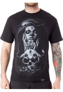 Camiseta Sullen Clockwork Preta