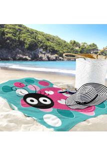 Toalha De Praia / Banho Joaninha New
