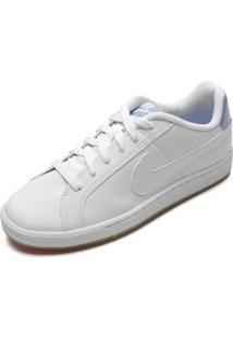 Tênis Couro Nike Sportswear Court Royale Branco