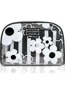 Kit De Necessaire Jacki Design De 2 Pçs Ahl18580-Pr Preto Unico