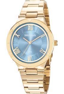 Relógio Seculus Feminino 77024Lpsvds1