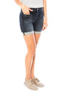 Bermuda Jeans Carmim Joana Azul