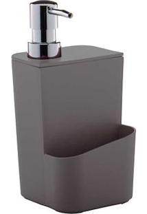 Dispenser Para Detergente 650Ml Chumbo Ou