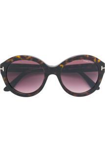 Óculos De Sol Marrom Tom Ford feminino   Gostei e agora  0462defe97