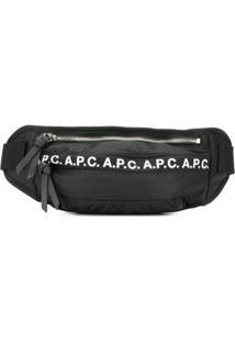A.P.C. Pochete Com Logo - Preto