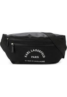 Karl Lagerfeld Pochete Rue St Guillaume - Preto