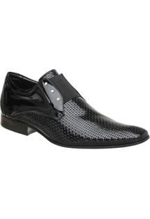 Sapato Masculino Malbork Em Couro Verniz Com Elástico 517 - Masculino