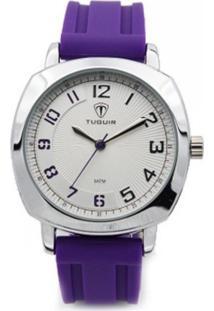 Relógio Tuguir Analógico 5015 Roxo