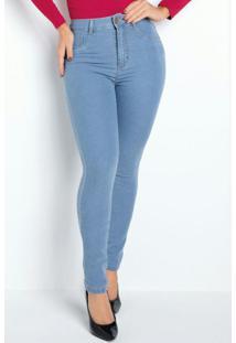 Calça Super Lipo Jeans Clara Sawary
