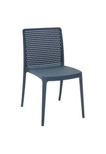 Cadeira Tramontina 92150030 Isabelle Polipropileno E Fibra De Vidro Azul Navy