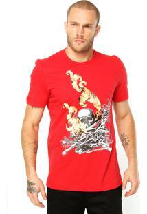 Camiseta Alexandre Herchcovitch Vermelha