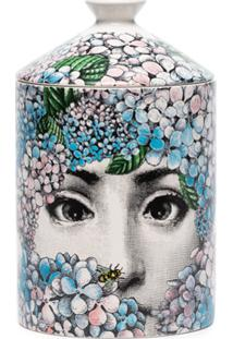 Fornasetti Ortensia Wax Candle (300G) - Rosa