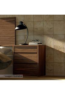 Criado Mudo Premium Com Gavetas- Dakota- 59X50,4X40,Casa D