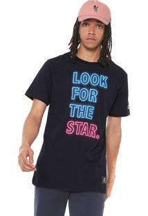 Camiseta Starter Lfts Neon Azul-Marinho