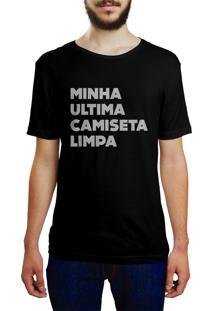 Camiseta Hunter Ultima Camiseta Limpa Preta