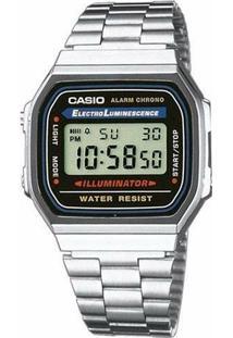 7d369c5c26e Netshoes. Relógio Digital Feminino Aço Vidro Casio ...