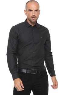 Camisa Aramis Super Slim Preta