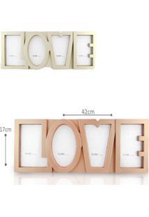 Porta Retrato Golden Love – Clink – 04 Fotos
