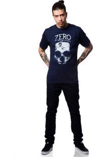 Camiseta Zero Grind Masculina - Masculino-Marinho