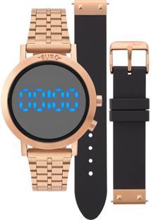 Relógio Fashion Fit Rosé Euro Eubj3407Ac/T4P