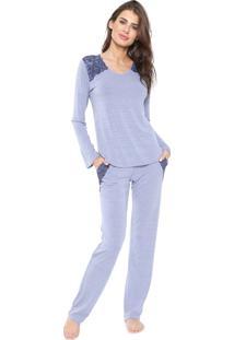 Pijama Any Any Leandra Azul