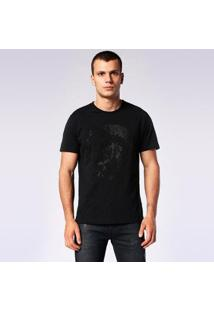 Camiseta Diesel T-Joe-Sq Masculino - Masculino-Branco
