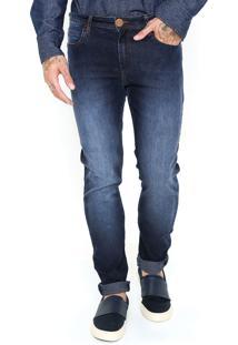 Calça Jeans Cavalera Thiago Skinny Azul