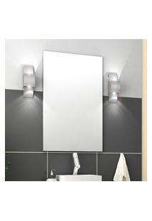 Espelheira Para Banheiro Bosi Malta/Firenze 80X60Cm Branca