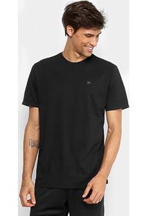 Camiseta Oakley Manga Curta Masculina - Masculino-Preto