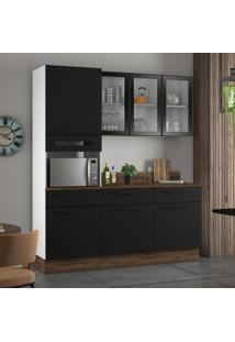 Cozinha Compacta Exclusive 7 Pt 3 Gv Preta