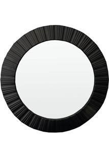 Espelho De Parede Louis 51X51Cm Preto
