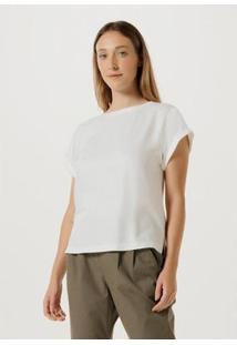 Blusa Em Tecido De Viscose - H7Duay9En6 Feminina - Feminino