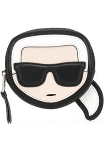 Karl Lagerfeld Porta-Moedas K/Ikonik - Preto