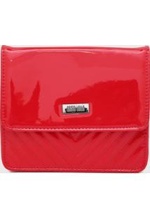 Bolsa Santa Lolla Matelass㪠Vermelha - Vermelho - Feminino - Dafiti