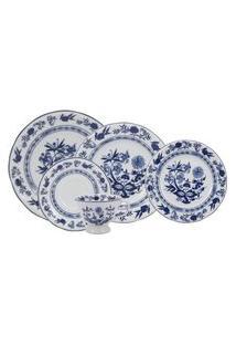 Aparelho De Jantar E Chá Porcelana Schmidt 30 Peças - Dec. Cebolinha