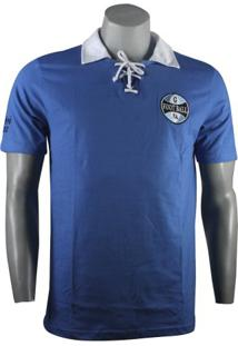 Camiseta Masculina Grêmio Retro 1922 Natural Cotton