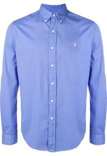 Polo Ralph Lauren Camisa Com Logo - Azul