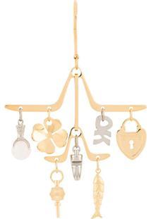 Lanvin Charm Chandelier Earrings - Dourado