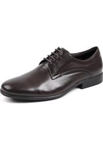 Sapato Opananken Grf Marrom Escuro
