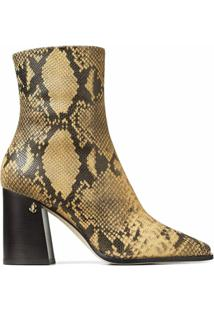 Jimmy Choo Bryelle 85Mm Ankle Boots - Amarelo