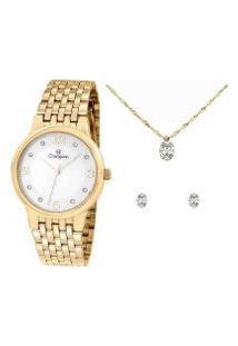 Relógio Feminino Champion Analógico Elegance - Cn24146W