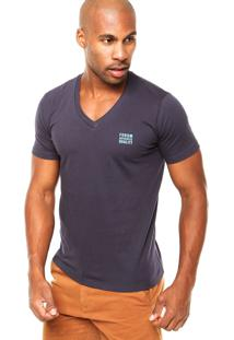 Camiseta Forum Slim Azul